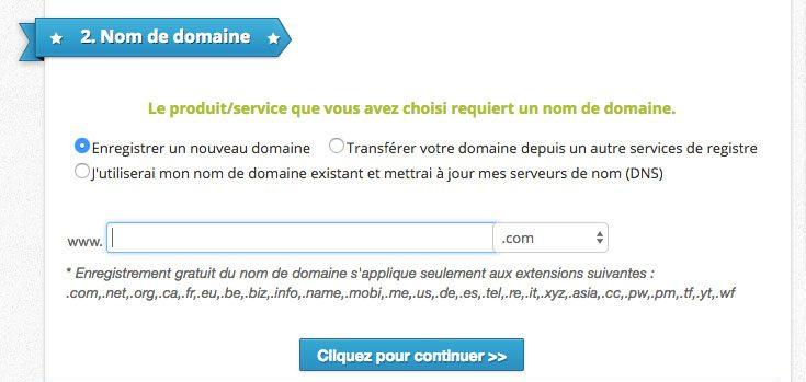 Domaine EX2